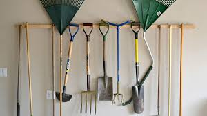how to hang tools in shed how to store and organize your yard tools so they re ready for action