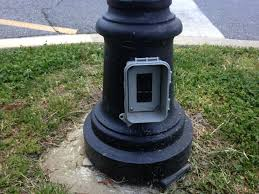Outdoor Electric Post Lights by How To Install Outdoor Lighting And Outlet The Family Handyman