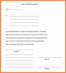 eviction notice sample eviction notice template pdf sample