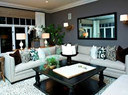 grey and tan living room classic furniture design black leather