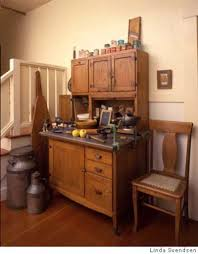 Kitchen Hoosier Cabinet Modernizing The Vintage Kitchen Or How Best To Avoid Cognitive