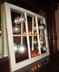 Christmas Decorations For Your Window by Handmade Christmas Crafts And Decorations Recycle An Old Window