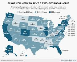 you need to make at least 20 an hour to afford a two bedroom in