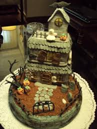 haunted house cakes http www cake decorating corner com