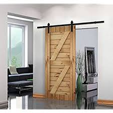 How To Build A Sliding Barn Door Amazon Com Unionline 8 Ft American Style Sliding Wood Barn Door