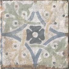 san juan deco porcelain tile 8in x 8in 100286988 floor and