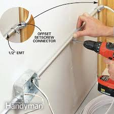 how to wire a garage unfinished garage cable and wire
