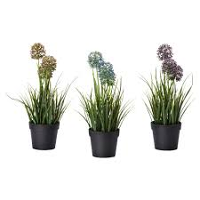 Office Pots by Like The Blue Flowers Fejka Artificial Potted Plant Ikea