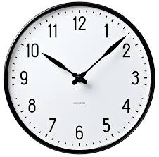 rosendahl arne jacobsen station wall clock 29cm 11 5