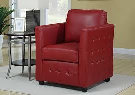Red Club Chair Bari Club Chair Red Castle Furniture