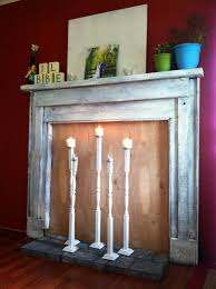 the classic and modern styles of fireplace candle holder