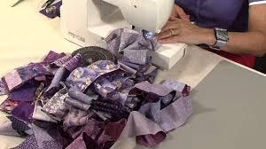 40 minute scrap quilt with valerie nesbitt youtube