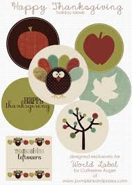 thanksgiving day labels and stickers worldlabel