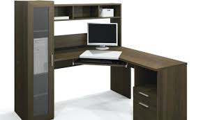 Seattle Corner Desk Ameriwood Computer Desk With Shelves Brown Wooden Thing