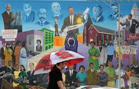 triangle murals brighten up walls in raleigh durham chapel hill civil rights mural