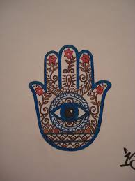 religious hamsa hand of god tattoo design idea tattoomagz