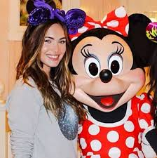 megan fox husband brian austin green visit disneyland cute