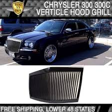 05 10 chrysler 300 300c black abs front grille rolls royce phantom