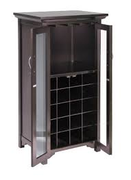 Wood Wine Cabinet Breathtaking Winsome Wood Wine Cabinet With Glass Door Espresso 18