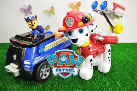 paw patrol italiano chase marshall salvano due bambini