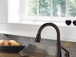Kitchen Faucet Atlanta 978rbdst In Venetian Bronze By Delta Faucet Company In