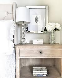 Bedroom Table Lamps Bedroom Nightstand Styling Easy Ways To Decorate Your Bedroom