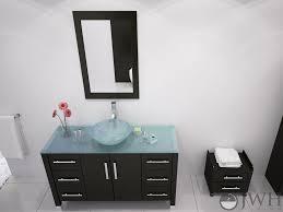 Bathroom Vanities With Glass Tops 47