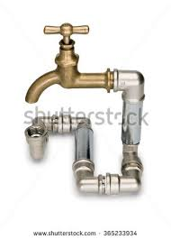 Faucet Pipes 3d Pipe Oil Valve On White Stock Illustration 99140960 Shutterstock