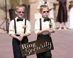ring security wedding ring security wedding sign ring bearer flag handmade
