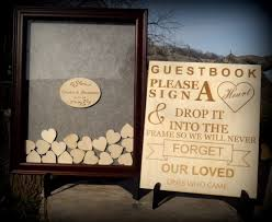 wedding guest book picture frame wedding ideas guest book frame wedding picture ideas walnut sign
