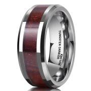 Men Wedding Rings by King Will 8mm Mens Wedding Bands In Tungsten Rings For Men Wedding