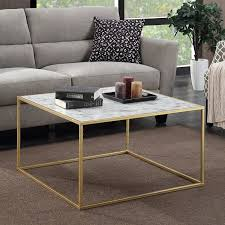 How To Clean Marble Table by Convenience Concepts Gold Coast Faux Marble Coffee Table The