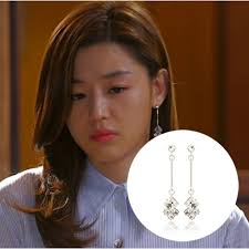 cool dangle earrings new 2014 korean tv drama pretty cool dangle earrings for girl or