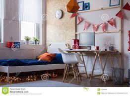 modernes schlafzimmer für jugendlich jungen stockfoto bild 61416936