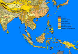 Maps Of Southeast Asia by The Sphingidae Of Southeast