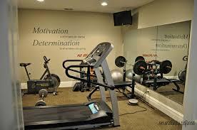 wall decor for exercise room modern interior design