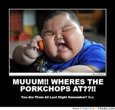 Pork Chop Meme - jessica guzzetti google