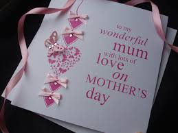 exclusive luxury handcrafted mothers day cards handmade