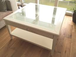 ikea liatorp coffee table storage drawer white glass i thippo