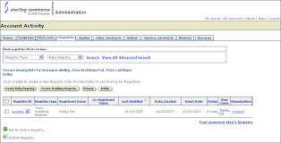 baby registries search managing registries
