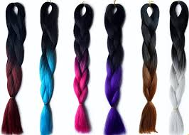 hair extensions for hair colored hair extensions for braiding weaving cling twisting