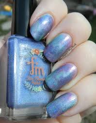 fair maiden hella holo customs trio seriotype nail art be happy