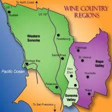 california map napa wine country infusion sonoma county vs napa valley finding