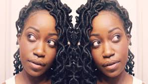 nubian hair long single plaits with shaved hair on sides crochet curly faux locs tutorial curly crochet dreads youtube
