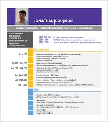 Colorful Resume Templates Free Android Developer Resume Template U2013 10 Free Word Excel Pdf