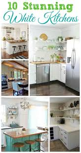 All White Kitchen Ideas 119 Best White Kitchens Images On Pinterest Kitchen Kitchen