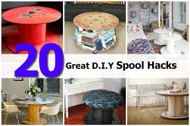 Diy Furniture Hacks 20 Great D I Y Spool Hacks