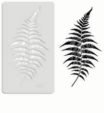 fern leaf stencil fern leaf wall stencils youstencil com au