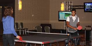 Ping Pong Table Rental Ping Pong Party Center Event Rental Inflatable Movie Screens