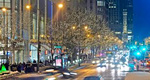 Christmas Lights Festival by Mmwinter Michigan Ave Jpg 2876 1537 Chicago Il I Love Chicago